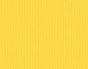Dear Stella Fabrics, Lemon Dotted Lines, Yellow Cotton Fabric by the Yard and Fat Quarters, Quilting Fabric, ST-1143LEMO