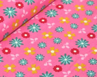 Liz Scott Fabric, Domestic Bliss by Liz Scott for Moda Fabrics, 18073-13 Flower Power Pink