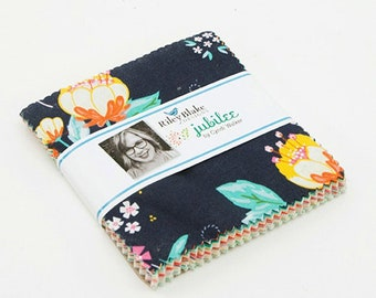 "Jubilee 5"" Stacker, 42 piece bundle of Designer Quilting Cotton Scraps by Cyndi Walker for Riley Blake Designs--5-7480-42"