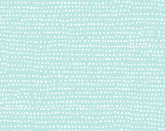 Dear Stella Fabrics, Mint Moonscape, Cotton Fabric by the Yard and Fat Quarters, Quilting Fabric, ST-1150MINT