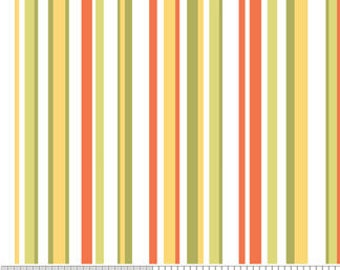 Decadence Fabric by Samantha Walker for Riley Blake Designs, C2635 Orange Stripes