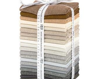 FREE SHIPPING: Chalk & Charcoal Coordinates Fat Quarter Bundle - 20pcs/bundle by Jennifer Sampou for Robert Kaufman Fabrics - FQ-1353-20