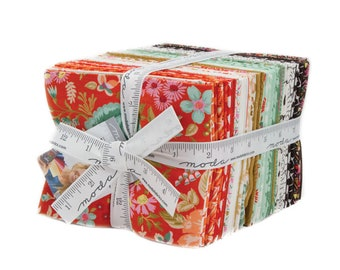 Meraki Fat Quarter Bundle, 34 Fat Quarters, Meraki by BasicGrey for Moda Fabrics, Full Collection, 30490AB