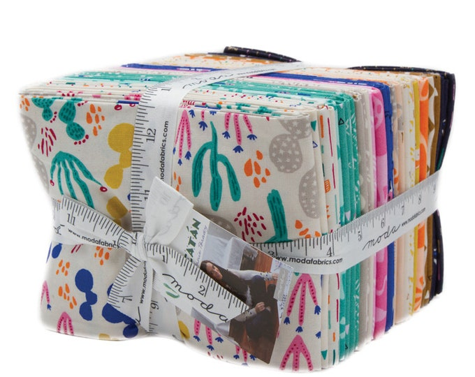 Featured listing image: Yucatan Fat Quarter Bundle, 34 Fat Quarters, by Annie Brady for Moda Fabrics, Full Collection--16710AB