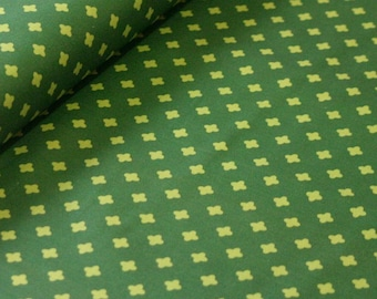Club Havana Cross Green, by Patty Young for Riley Blake Designs--Fabric by the Yard--C7285-GREEN