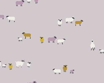 Art Gallery Fabrics, Wool Origins Sheep, Hooked by Mister Domestic--Quilters Cotton OEKO-TEX Standard 100 Certified--HKD-22656