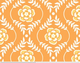 Samantha Walker Fabric, Decadence by Samantha Walker for Riley Blake Fabrics, C2633 Damask Orange
