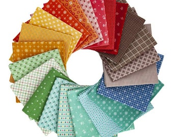 42 Fat Quarter Bundle - Prim by Lori Holt of Bee In My Bonnet for Riley Blake Designs--FQ-9690-42