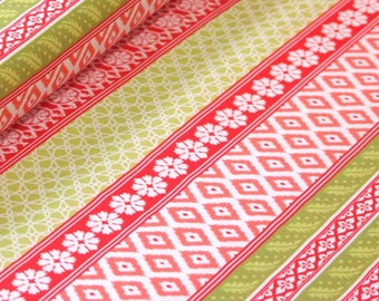 Club Havana Island Ikat Coral, Riley Blake Designs, Club Havana by Patty Young. 100% cotton fabric by the yard, C7281-CORAL