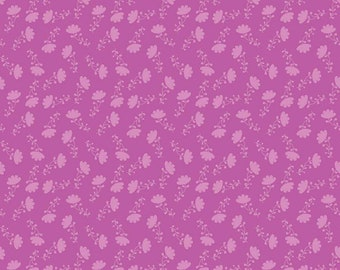Riley Blake Fabric, Lucy's Garden Tonal Fuchsia, Cotton Fabric by the Yard and Fat Quarters, Quilting Fabric, C8644-FUCHSIA