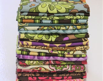 Lila Tueller Fabric, 21 Fat Quarters, Fiona's Fancy by Lila Tueller for Riley Blake Fabrics