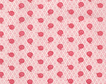 Holly Holderman Fabric, Doll Dresses by Holly Holderman for Lakehouse Dry Goods, LH08040 Petal Pink Posy Perfect