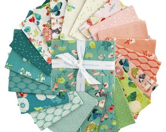 21 Fat Quarter Bundle - Midsummer Meadow Complete Collection by Katherine Lenius for Riley Blake Designs--FQ-9810-21