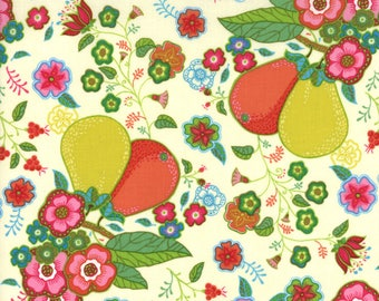 Lily Ashbruy Fabric, Trade Winds by Lily Ashbury for Moda Fabrics, 11451-11 Vanilla