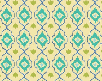 Amira, Camelot Fabrics, Designed by Elizabeth Silver, Lozenge in Lemonade, Fabric by the Yard, SKU: 27170103 #2