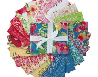 Glohaven Fat Quarter Bundle -  21 Prints, Complete Collection by Lila Tueller for Riley Blake Designs--FQ-9830-21