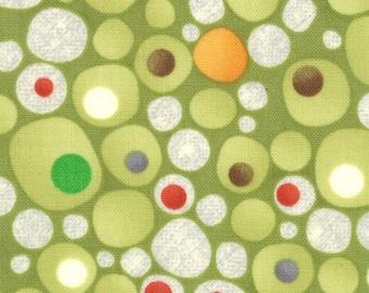 Jenn Ski Fabric, Ten Little Things by Jenn Ski for Moda Fabrics, 30504-17 Lime