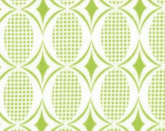 Moda Fabric, Half Moon Modern, Lime, 32356-33