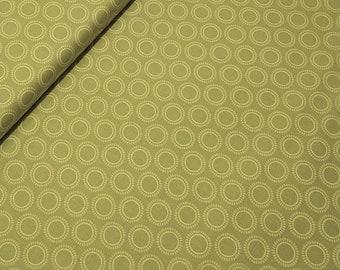 Samantha Walker Fabric, Decadence by Samantha Walker for Riley Blake Fabrics, C2636 Circles in Green