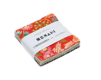 Moda Mini Charm Pack, Meraki by BasicGrey for Moda Fabrics, Fabric Scraps, 30490MC