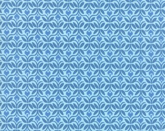 Kate Spain Voyage Fabric by the Yard, Capri in Baltic Blue, Moda Fabrics, 27285-13