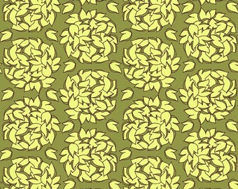 Lila Tueller Fabric, Fiona's Fancy by Lila Tueller for Riley Blake Fabrics, C2674 Fiona Balls Green