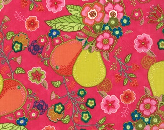 Lily Ashbury Fabric, Trade Winds by Lily Ashbury for Moda Fabrics, 11451-14 Persian Rose