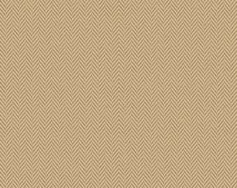 Riley Blake Fabrics, Herringbone Tan, All About Plaids, Premium Quilting Cotton Fabric by the Yard, C636-TAN
