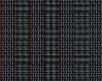 Riley Blake Fabrics, Tweed Black, All About Plaids, Premium Quilting Cotton Fabric by the Yard, C639-BLACK