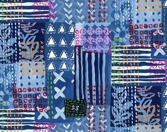 Dear Stella Fabrics, Patchwork, No Place Like Om Fabrics by August Wren, Quilting Cotton, STELLA-DJL1703  MULTI