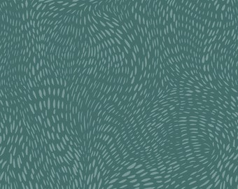 Dear Stella Fabrics, Dash Flow in Blue Bayou, Cotton Fabric by the Yard and Fat Quarters, Quilting Fabric, ST-SRR1300BAY