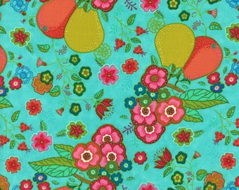 Lily Ashbury Fabric, Trade Winds by Lily Ashbury for Moda Fabrics, 11451-13 South Pacific