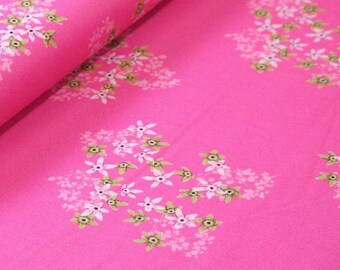 Club Havana Florecita Pink, Riley Blake Designs, Club Havana by Patty Young. 100% cotton fabric by the yard, C7282-PINK