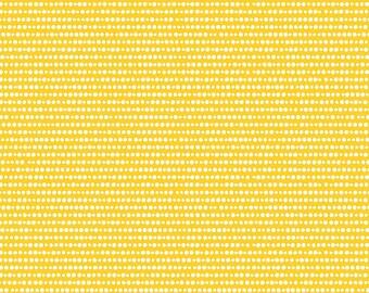 GRL PWR, Riley Blake Fabrics, Yellow Girl Power Dots, Premium Quilting Cotton Fabric by the Yard, C10657-Yellow