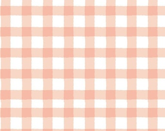Dear Stella Fabrics, Plaid in Sandstone, Creative Cats Cotton Fabric by the Yard and Fat Quarters, Quilting Fabric, STELLA-DCJ1692-SANDSTONE