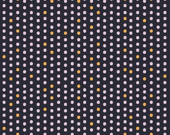 Art Gallery Fabrics, Paw-some Night Dots, Oh, Meow!--Quilters Cotton OEKO-TEX Standard 100 Certified--OHM-33451