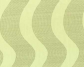 Kate Spain Fabric, Raked Sand Tea, Good Fortune by Kate Spain for Moda Fabrics, 27105-15
