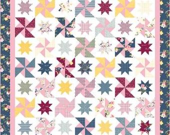 Quilt Pattern: Hello Melly Designs, Play Date, Printed Quilt Pattern--P151-PLAYDATE