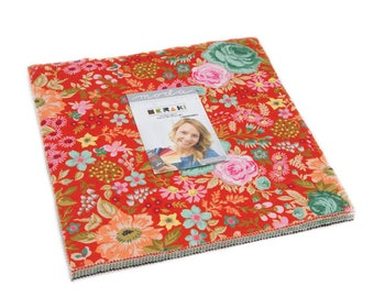 Meraki Layer Cake by BasicGrey for Moda Fabrics, 42 pieces 10x10 inch squares--30490LC