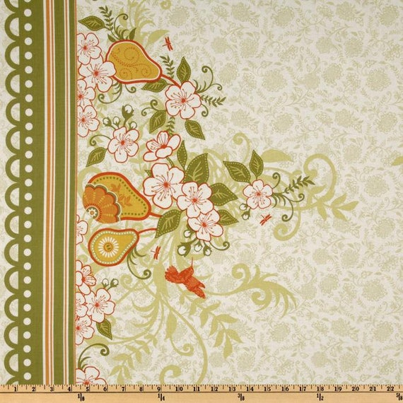 Decadence Green 8 Fabric Fat Quarters Bundle by Samantha Walker for Riley Blake