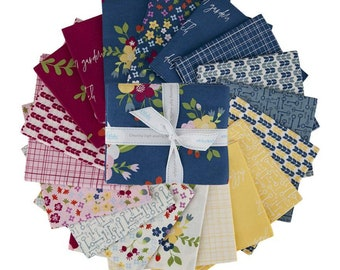 Bloom and Grow 18 Fat Quarter Bundle designed by Simple Simon and Co for Riley Blake Designs--FQ-10110-18