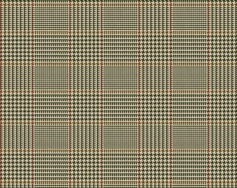 Riley Blake Fabrics, Tweed Green, All About Plaids, Premium Quilting Cotton Fabric by the Yard, C639-GREEN