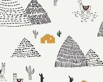 Art Gallery Fabrics, Wild Friends, Capsules Pacha Fabric by AGF Studies--100% Premium Quilters Cotton--CAP-PA-1402