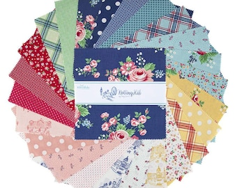 """Notting Hill 10 Inch Stacker - 42 Pcs designed by Amy Smart for Riley Blake Designs - 10""""x10"""" Fabric Squares - 10-10200-42"""