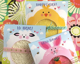 Easter, Card, with Cookie