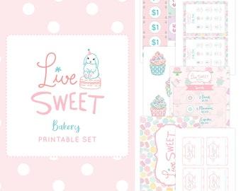 Bakery Printable Set