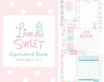 Organizational Boards Printable Set