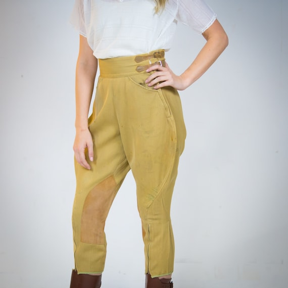 1940's  Jodhpurs Riding Pants 40's Size small