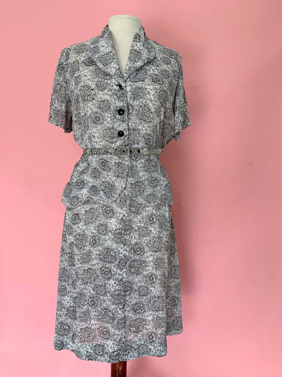 1940's Dress Size XL 38 Waist