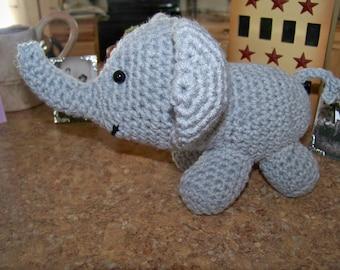 Eddie the Crocheted /Rattle